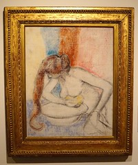 2016.02772a The Burrell Collection, 20 September 2016. Woman at her Toilette, c. 1897. (jddorren08) Tags: glasgow burrellcollection scotland fineart decorativearts embroidery needlework ceramics paintings sculpture tapestries armour glass neareasterncarpets orientalart rugs sirwilliamburrell sonyalphaa6000 sigma30mm daviddorren jddorren edgardegas womanathertoilette
