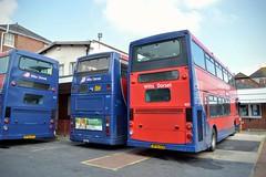 Lymington Bus Depot (PD3.) Tags: lymington new forest hants hampshire england uk wilts dorset bus buses goahead go ahead optare spectra volvo east lancs