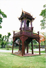The Bell Tower in the Ancient City, Muang Boran, Samut Prakan Province, Thailand. (samurai2565) Tags: samutprakan samutprakanprovince thailand ancientsiam ancientcity muangboran sukhumvitroad bangkok lekviriyaphant bangpu