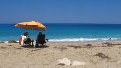 .. (_tess_) Tags: tess greece lefkada pefkoulia beach people