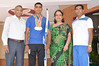 """National Archery Winner Himasnshu Malik with Jiva Directors and Coach • <a style=""""font-size:0.8em;"""" href=""""https://www.flickr.com/photos/99996830@N03/29364219846/"""" target=""""_blank"""">View on Flickr</a>"""
