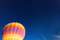 The Starry Night (JasonMK) Tags: balloon balloonfest harvard colors sunset rainbow hotair hotairballoon
