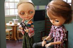 Colinho da vov - 2 (MUSSE2009) Tags: blythe doll custom toys gramdma vovnen vinnie diorama miniature