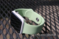 Ceramic Apple Watch with Mint Green Watch Band (gudedomo) Tags: apple ceramic watch applewatch white edition watchband band wrist accessory color combination red product 2016 orange yellow mint green bright pink salmon stand blue baby turquoise navy ocean midnight cocoa mocha nylon metal strap link bracelet milanese loop hermes leather