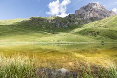 Golden Lake (Massimiliano Teodori) Tags: alpi dolomiti lagoiman lake iman valgardena italia