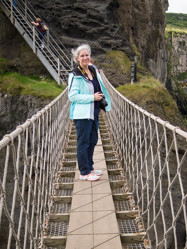 At Carrick-a-Rede Bridge