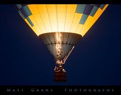 Night Light (Matt Grans Photography) Tags: reno hotairballoon festival race night morning glow lighterthanair fire flame