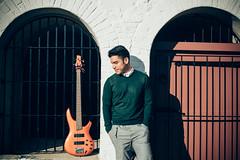 Joshua Young 2016 (hal04293) Tags: music art artist bass ibanez jazz massachusetts guitar outdoor