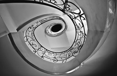 Stairs (michel1276) Tags: treppe stairs bw sw blackwhite