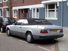 Mercedes-Benz 300 CE 2.4 cabrio 1992 nr2391 (a.k.a. Ardy) Tags: 77gdg8 softtop