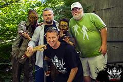 Crew shot (SlayervilleProd) Tags: zombie makeup halloween baldwinasylum slayerville slayervilleproductions undead hauntedhouse baldwinasylum2016videoshoot