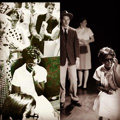 Today, on Sept. 23 in 1957, Elizabeth Eckford was blocked entry to Central High by the Arkansas National Guard. Today is also our opening of #ninewhodared with @almoststarvingart playing Elizabeth. #littlerocknine #apeoplesjourney (TheCoterieTheatre) Tags: httpswwwinstagramcompbkr7zzyg2ok httpsscontentcdninstagramcomt51288515sh008e351435087612069222560174172925642171967078400njpgigcachekeymtm0ntqzmtkzmdgyodcxmdc5na3d3d2 the coterie theatre kansas city crown center kc kcmo for young audiences instagram today sept 23 1957 elizabeth eckford was blocked entry central high by arkansas national guard is our opening ninewhodared with almoststarvingart playing littlerocknine apeoplesjourney