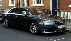 A guilty Audi Quattro (johnnyg1955) Tags: cadsin leeds car alltypesoftransport numberplate carregistration registrationnumber 2016 audi audis8v8tfsiquattroauto audiquattro gi4lty