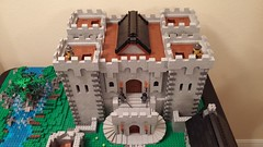 Main Keep (reztam) Tags: castle keep modular lego moc