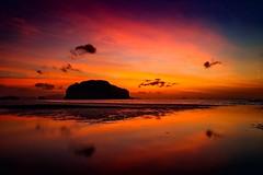 The Dawn...  [Last Video HD Link] (yarin.asanth) Tags: red dawn calm relax silence morning yarinasanth gerdkozik islands sunrise sunset mangostan mangosteen durian summer ocean sea water thailand yaoyai