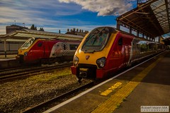 ChesterRailStation2016.09.22-15 (Robert Mann MA Photography) Tags: chesterrailstation chesterstation chester cheshire chestercitycentre trainstation station trainstations railstation railstations arrivatrainswales class175 class150 virgintrains class221 supervoyager class221supervoyager merseyrail class507 city cities citycentre architecture nightscape nightscapes 2016 autumn thursday 22ndseptember2016 trains train railway railways railwaystation