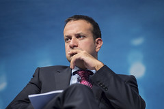 Leo Varadkar takes part in the session Transport for Growth