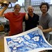 "JVJ printing litography at Kristiansand Grafikkverksted- with the famous Christian Bramsen from Atelier Clot, Bramsen & Georges Paris • <a style=""font-size:0.8em;"" href=""https://www.flickr.com/photos/71143759@N06/7105525997/"" target=""_blank"">View on Flickr</a>"