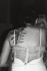 Bride's tattoo (KimpyWoo) Tags: wedding blackandwhite bw film phoenix monochrome tattoo analog 35mm bride nikon marriage xp2 400 analogue ilfordxp2 ilford 35mmphotography 400iso n55 2880mm nikonn55 filmphotography nikonf55 f55 2880 35mmcamera traditionalphotography vintagephotography 2880mmlens parkerwedding