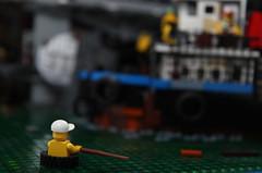 Soy Park 03 (cjedwards47) Tags: boat post lego garage parking apocalypse tugboat tug apocalyptic moc