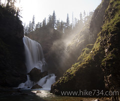 "Dawn Mist Falls • <a style=""font-size:0.8em;"" href=""http://www.flickr.com/photos/63501323@N07/7132821125/"" target=""_blank"">View on Flickr</a>"