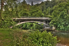 Photo of Irfon bridge Builth Wells