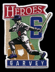 1999 Heroes-Garvey (Everything_Jerry_Reuss) Tags: 1999 jackierobinson billrussell losangelesdodgers roncey sandykoufax mikescioscia stevegarvey dondrysdale gilhodges donsutton kirkgibson peeweereese fernandovalenzuela donnewcombe dukesnider roycampanella mannymota tommydavis tomlasorda rickmonday johnnypodres carlerskine maurywills waltalston heroespatches billbuhler