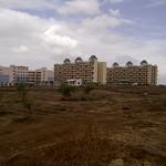 View from the road to Sahara City Homes from Porwal Road, Lohegaon Gram Panchayat - Visit Sahara City Homes Pune, 1 BHK 2 BHK 2.5 BHK 3 BHK Flats off Vishrantwadi Lohegaon Road, Pune 411015 thumbnail