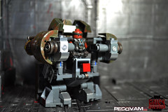 In The Driver's Seat (pecovam) Tags: brick war lego custom gears cog affliction silverback of pecovam