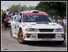 20120609_56.jpg (nichian) Tags: sports car rally drivers rallying subaruimprezawrc rb12 rogerduckworth rallybarbados2012