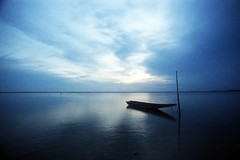 * (-nasruddinmukhtar-) Tags: morning seascape reflection analog sunrise 35mm dawn boat malaysia analogue 135 nikonfm2 nasruddin nasruddinmukhtar efinitisuperuxi200 nipponkogakunikkorud20mmf35