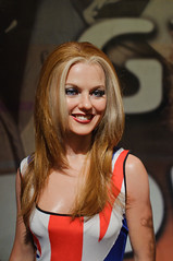 Geri Halliwell (Ginger Spice) at Madame Tussaud's New York (InSapphoWeTrust) Tags: newyork manhattan spicegirls 2012 madametussauds gerihalliwell gingerspice sexyspice