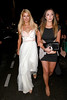 Paris Hilton and a friend Ellen Von Unwerth Party - departures during the 65th Cannes Film Festival at Terraza Martini Cannes, France