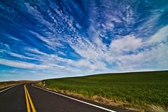 Road to Asgard (Don Jensen) Tags: road sky cloud green field canon washington highway wheat tokina porn 7d fields epic asgard 1117 palouse