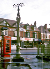 Sign of times past (geoff7918) Tags: leeds gaslamp shops signpost sewer alcesterroad vicar