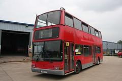 WHIPPET LN51AZW SWAVESEY 010612 (David Beardmore) Tags: bus volvo president doubledecker londonunited plaxton lowfloor b7tl whippetofswavesey sovereignlondon ln51azw vlp14