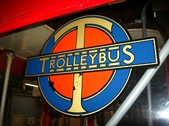 London transport Trolleybus roundel  02/06/12. (Ledlon89) Tags: bus london transport decal transfer lt trolleybus londonbus roundel londontransport vintagebus