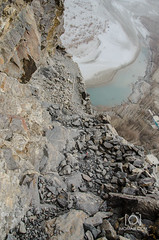 Stairs of Khaphocho Fort - Skardu (M.Omair) Tags: road city autumn winter brown white snow tree water beautiful yellow fog clouds river sand nikon desert fort top peak valley omair leafs indus vr 18105 skardu baltistan shigar virgomair d7000 imomair kharpachu gilgitl