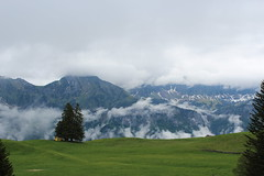 Mountain through the Fog