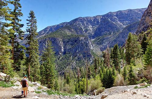 Mary Jane falls, Spring Mountain