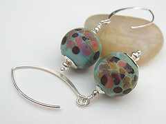 Gypsy Melody - Sold (Beguiled By The Bead) Tags: glass jewellery earrings jewlry