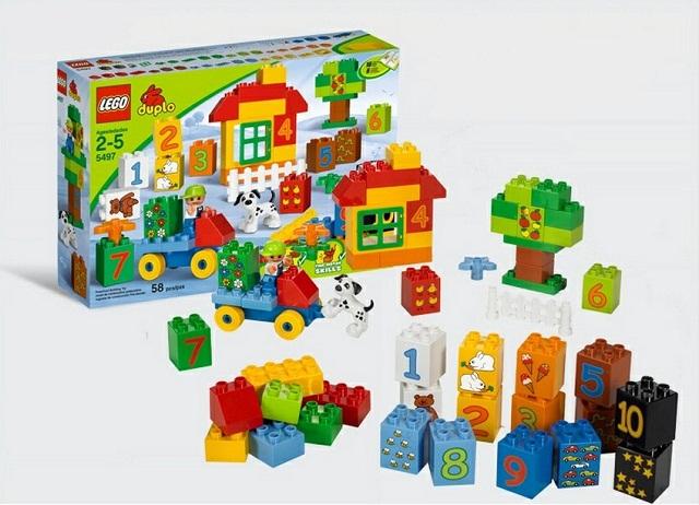 乐高 LEGO Duplo Learning 得宝系列数字拼砌学习组5497