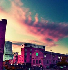 #Leeds #CrownPoint area #sunrise #earlymorning #clouds (Wishtography) Tags: urban clouds sunrise cityscape leeds earlymorning crownpoint iloveclouds streamzoo