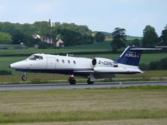 Lr35 D-CGRC (wembleybob) Tags: jet 35 luton lear ltn eggw dcgrc