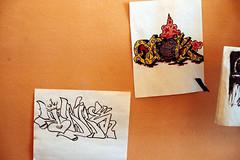 (36th Chamber) Tags: nyc film 35mm graffiti trike quik