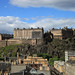 The view of Edinburgh Castle from LOCOG Drinks Reception at the Point Hotel