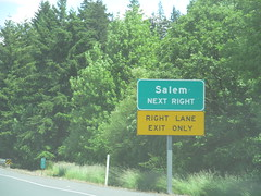 Oregon State Highway 22 (Dougtone) Tags: road sign oregon dallas highway route freeway shield salem expressway 060512
