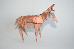 Origami Pronghorn (simbakeila123) Tags: photo origami flickr nicolas terry quentin pronghorn tissuefoil trollip simbakeila123