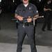 LAPD Riot Police outside Staples Center