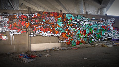 Sowat + Lek (sowat dmv) Tags: street paris france art graffiti mausoleum lek mausolée mausolee sowat